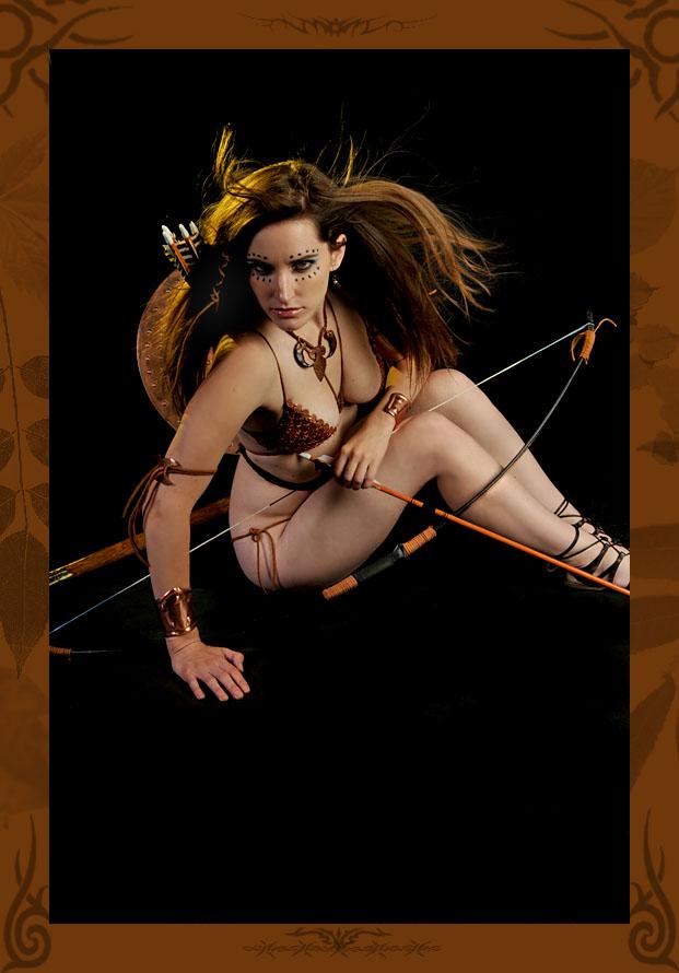 Calgary Alberta Jul 13, 2009 Classic Photography Warrior Princess