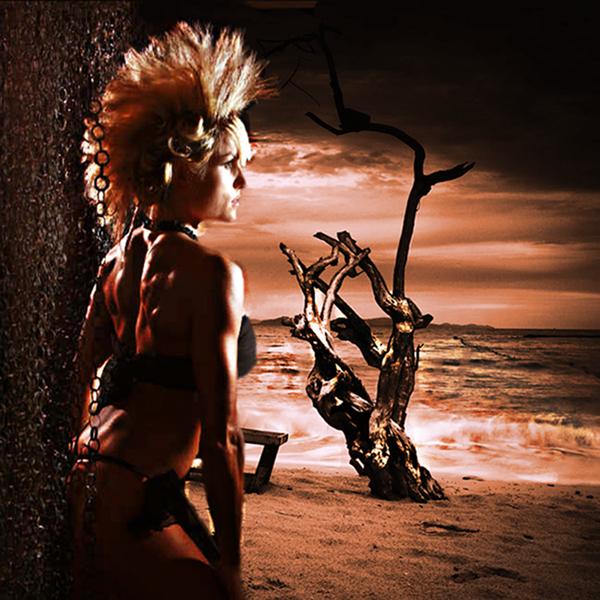 Female model photo shoot of Ashley Reese by Dan Leffel, hair styled by christian mac tavish, digital art by Invisage Concepts