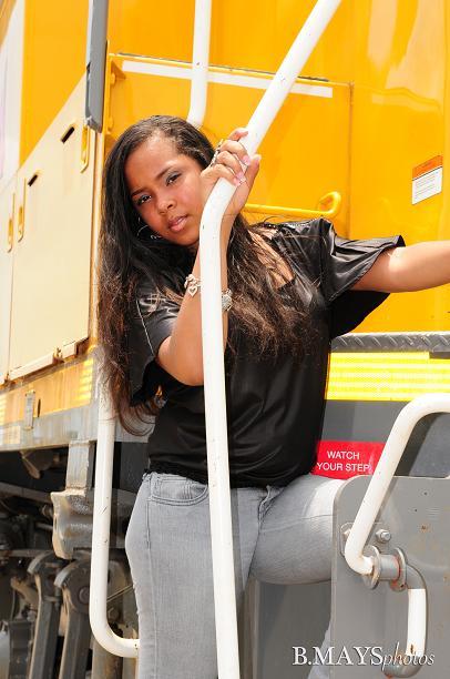 Female model photo shoot of Ariesha M in Houston, TX