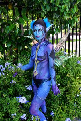 Miami Beach Convention Center Jul 16, 2009 scary blue faery