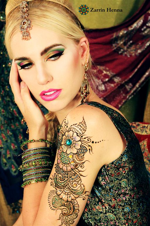 Jul 18, 2009 Zarrin Henna Guilded Henna