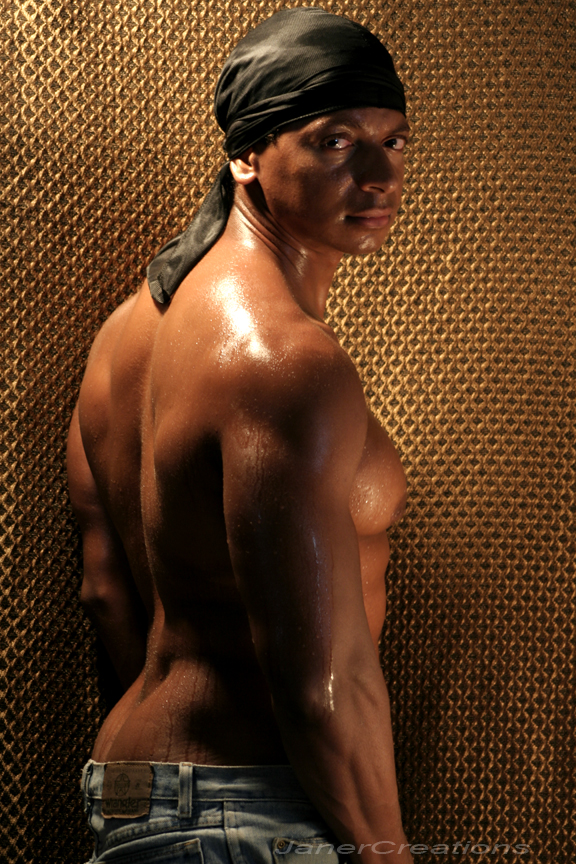 Male model photo shoot of A Michael Robinson by janercreations