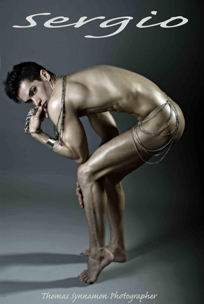 Male model photo shoot of Sergio Fernandez by Thomas Synnamon