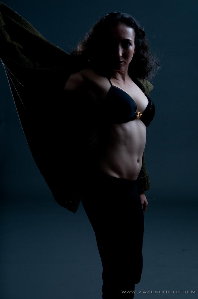 Female model photo shoot of Tinyballerinamodel by zazenphoto