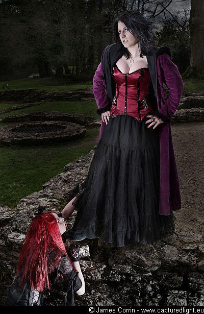 Female model photo shoot of Babys_got_a_temper by James Corrin