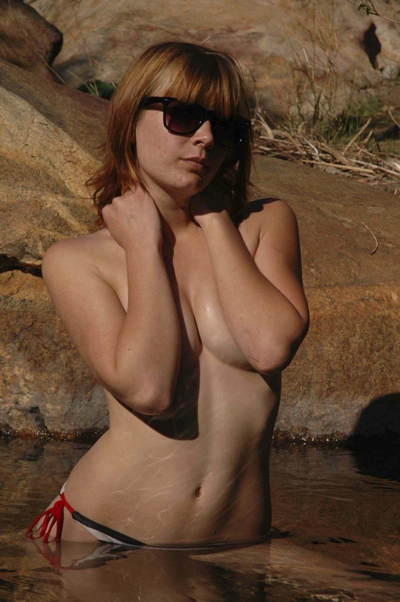 Male model photo shoot of Oliver Klosauff in Three Sisters Falls