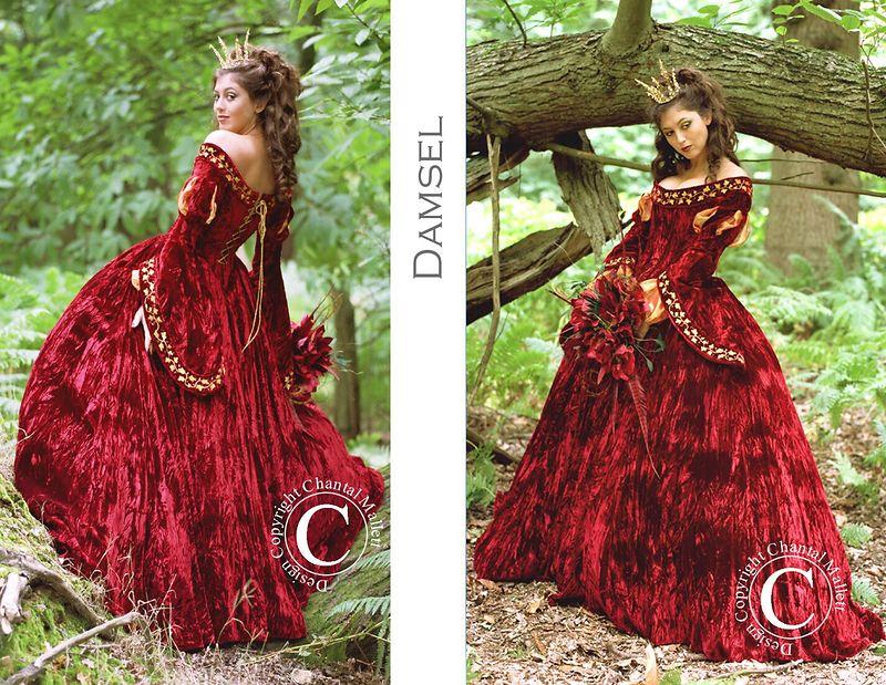 Jul 21, 2009 Chantal Mallett Damsel gown.
