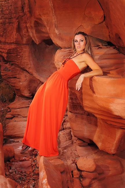 Red Rock Canyon, Nevada, USA. Jul 24, 2009 © Nicholas.C.Vidler.