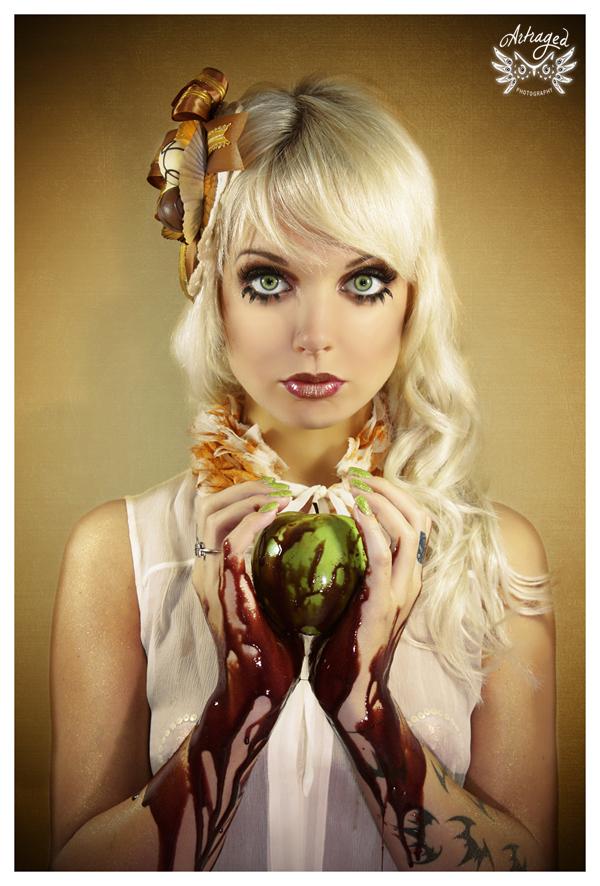 Female model photo shoot of Dangerously Dolly in Miami, FL