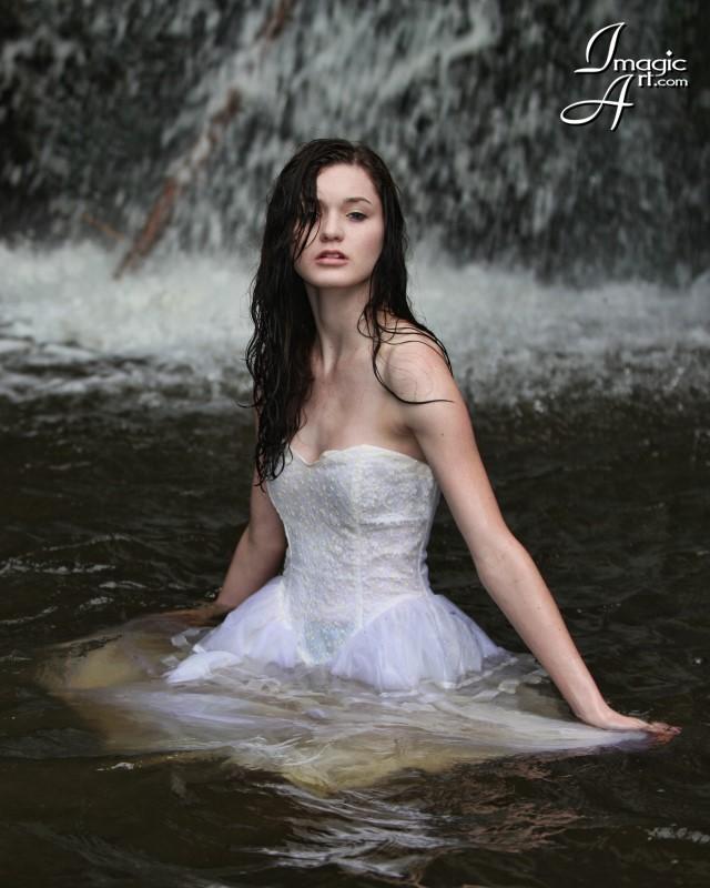 Jemez, NM Jul 25, 2009 ImagicArt Erica Fletcher - Fashion by the Falls