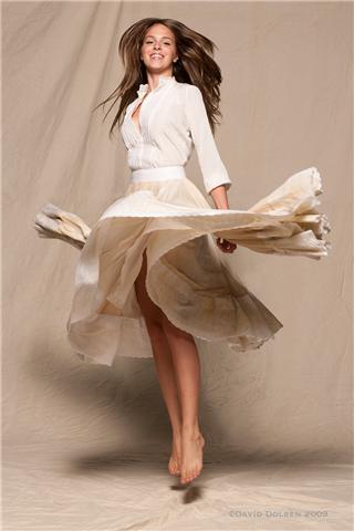 Female model photo shoot of Kortney Krystik by David Dolsen, wardrobe styled by joi kittredge, makeup by Courtney Frey