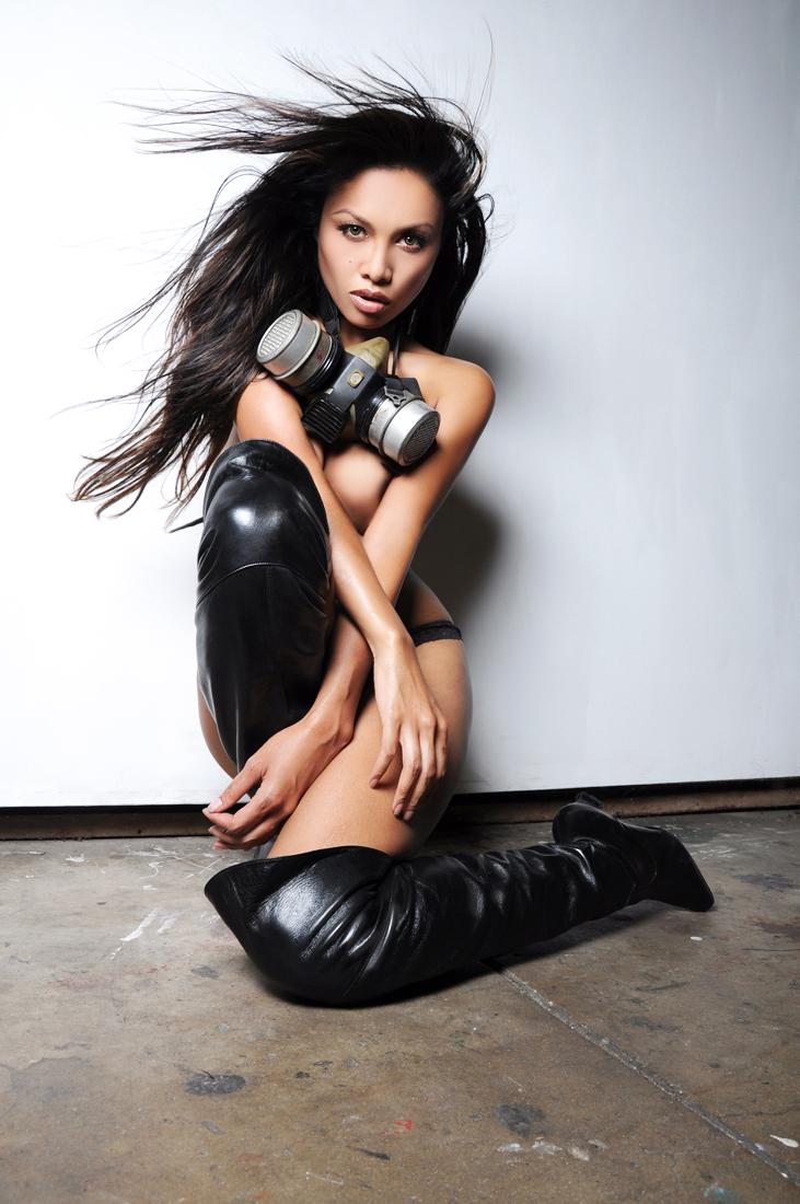 Female model photo shoot of Sun143 by Vigilante, wardrobe styled by ABU ORIGINAL