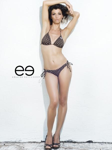 Female model photo shoot of Anita Menotti by eg in Miami, Florida, makeup by Virginia Le Fay