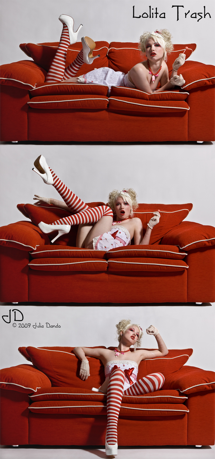 Plymouth, UK - Smile Photo Studios Jul 31, 2009 Julia Dando 2009 Lolita Trash - The Sofa Series