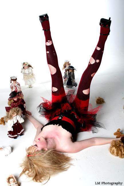 Bradford Studio Aug 01, 2009 Lisa Milner Photography Broken Doll