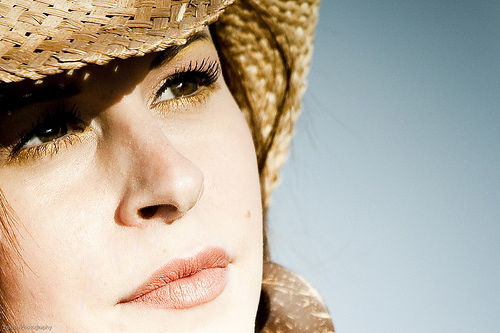 Female model photo shoot of Stone Cold Fox by JasonLi Photography in Cherry Beach - Toronto, ON