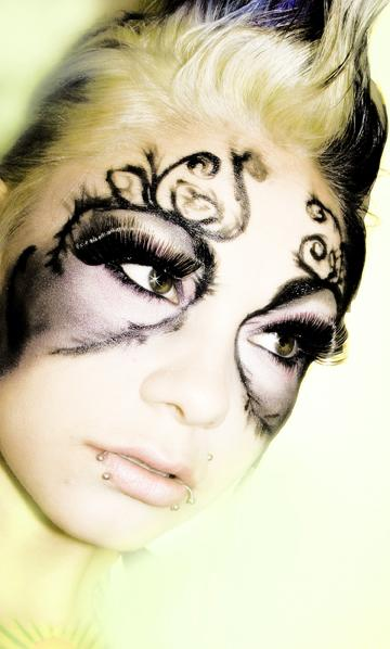 Female model photo shoot of S McClead Makeup by Shannon McClead Photo