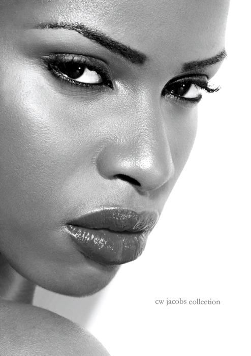ATLANTA, GA - MODEL: Val Aug 05, 2009 C.W. JACOBS FOTOGRAPHIA COLLECTION (c)2009 C.W. JACOBS COLLECTION-B&W HEADSHOT BOOK 09
