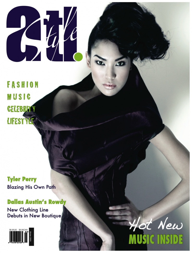 Atlanta, GA Aug 05, 2009 ATL Style Magazine & Drexina Nelson New Concept Cover
