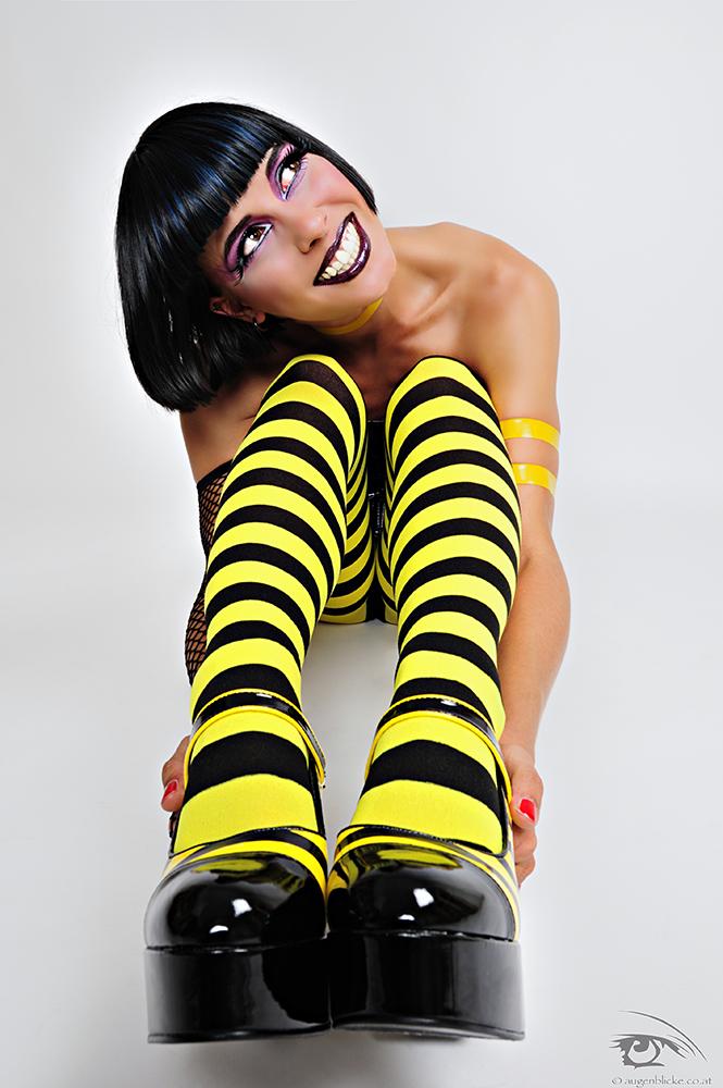 Vienna, Austria Aug 06, 2009 Alexander Wurditsch, Augenblicke.co.at Sexy Bee