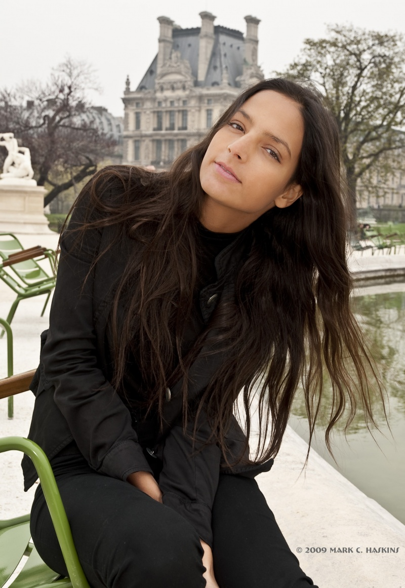 Male and Female model photo shoot of Mark C Haskins and caterina_norbis in Paris France
