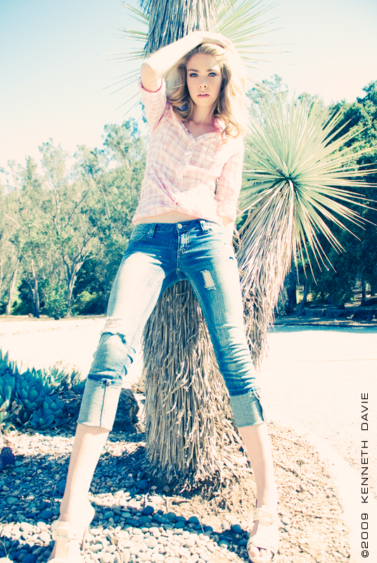 Los Angeles, CA Aug 07, 2009 Kenneth Davie Brianna Q. of Models International L.A.