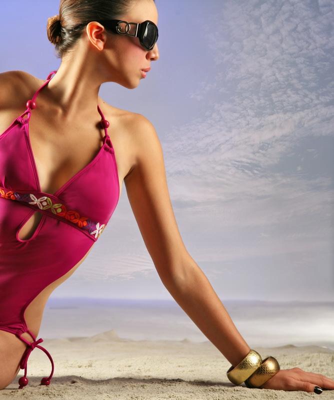 Female model photo shoot of Daisy Sanchez and Danella Lucioni by Phillip Ritchie  in red door studio costa mesa