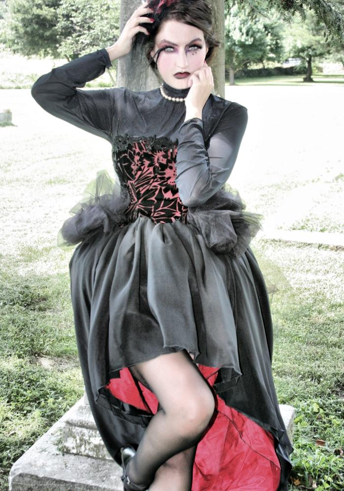 Aug 10, 2009 Elegant Blood-Vampire victorian gothic, photo by Envy photography