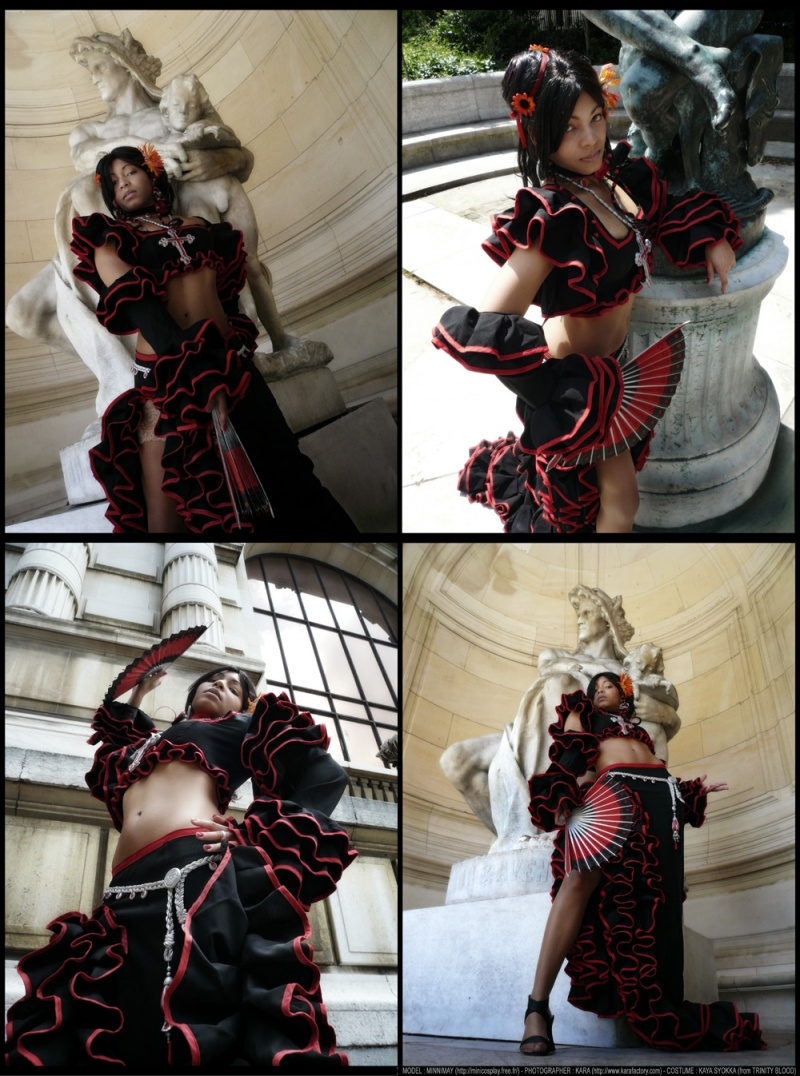 Paris - Fashion Museum of Paris Aug 10, 2009 Kara - Minnimay - Costume from Trinity Blood (C) Paris - Fashion Museum of Paris