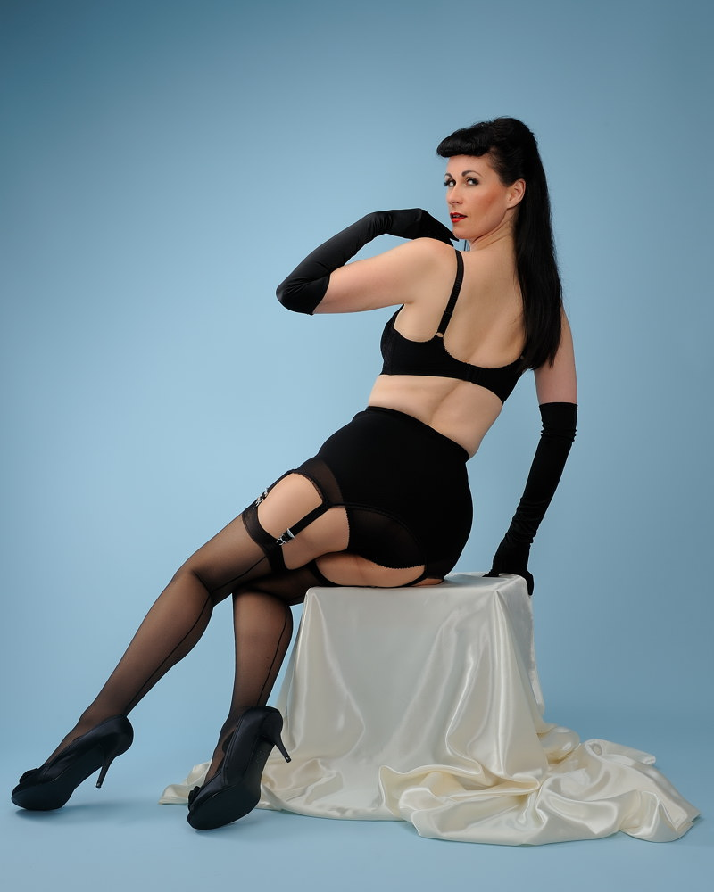 Female model photo shoot of SensuElle by DrCaligari in Bournemouth