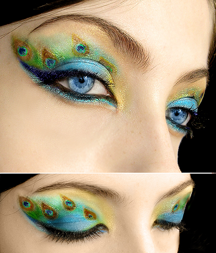 Aug 10, 2009 © Marie Del Corvo 2008 Peacock Make-up