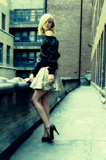 New York Aug 10, 2009 L.E.S. Designs Norma Jeane Fall 09 lookbook