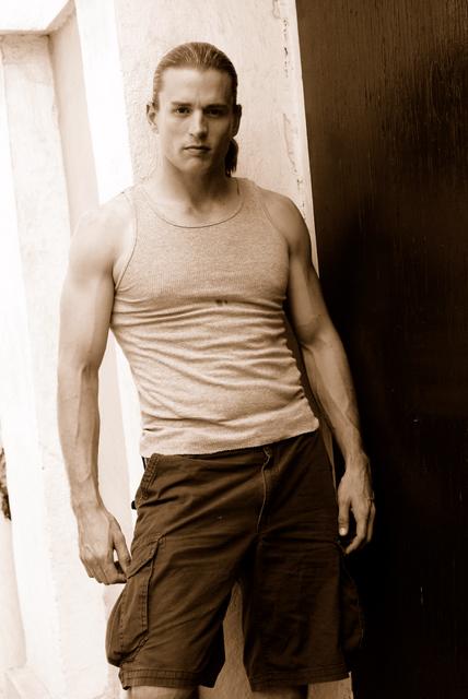 Male model photo shoot of Jonathan  Van Clief