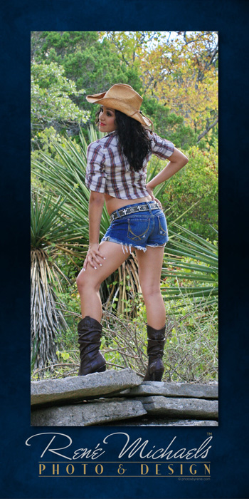 Aug 11, 2009 photosbyrene.com Cowgirl in Cactus