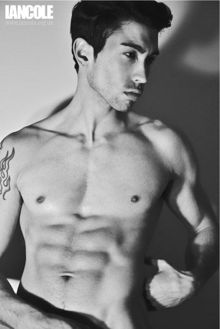Male model photo shoot of Josh Hendriks by Mister Cole in London, makeup by sandra bermingham