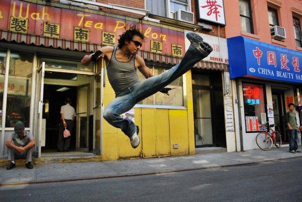 Chinatown (New York City 2009) Aug 13, 2009 Kat Gloor Photography Kat Gloor Photography - Left Front Kick