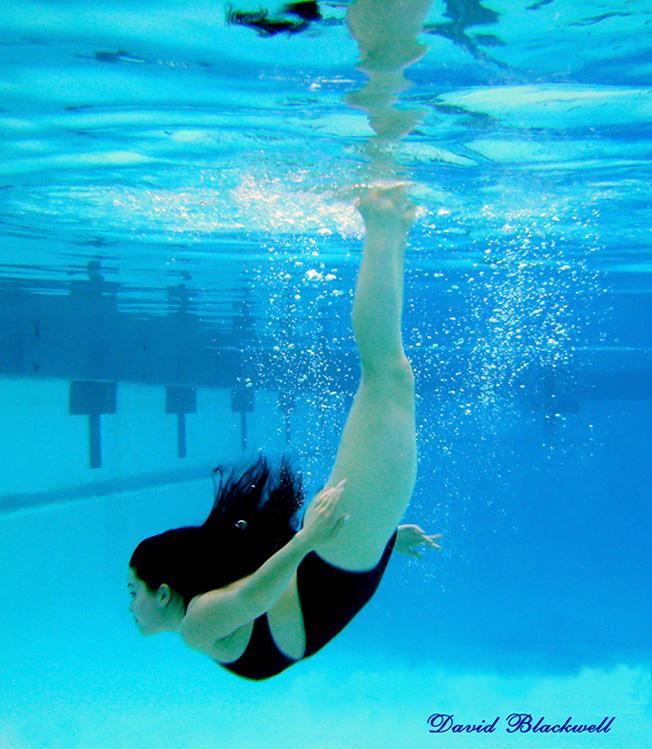 Davids Private Personal Pool Aug 14, 2009 David Blackwell Olga Gracefully Dives Down