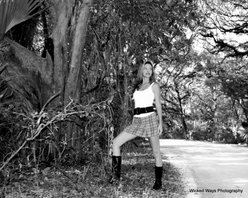 Talbot Island, Florida (outside of Jax) Aug 16, 2009 DANI of the band CODA