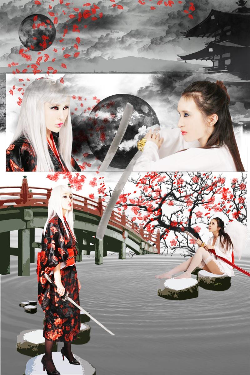 Male and Female model photo shoot of Elusive Memories and fashionomad in Santa Clara, CA