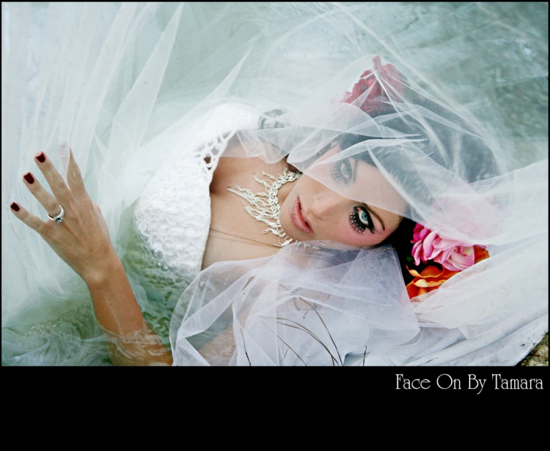 SANTA ANA Aug 17, 2009 FACE ON BY TAMARA TREASURE MY DRESS SHOOT-MAKEUP & PHOTO BY TAMARA