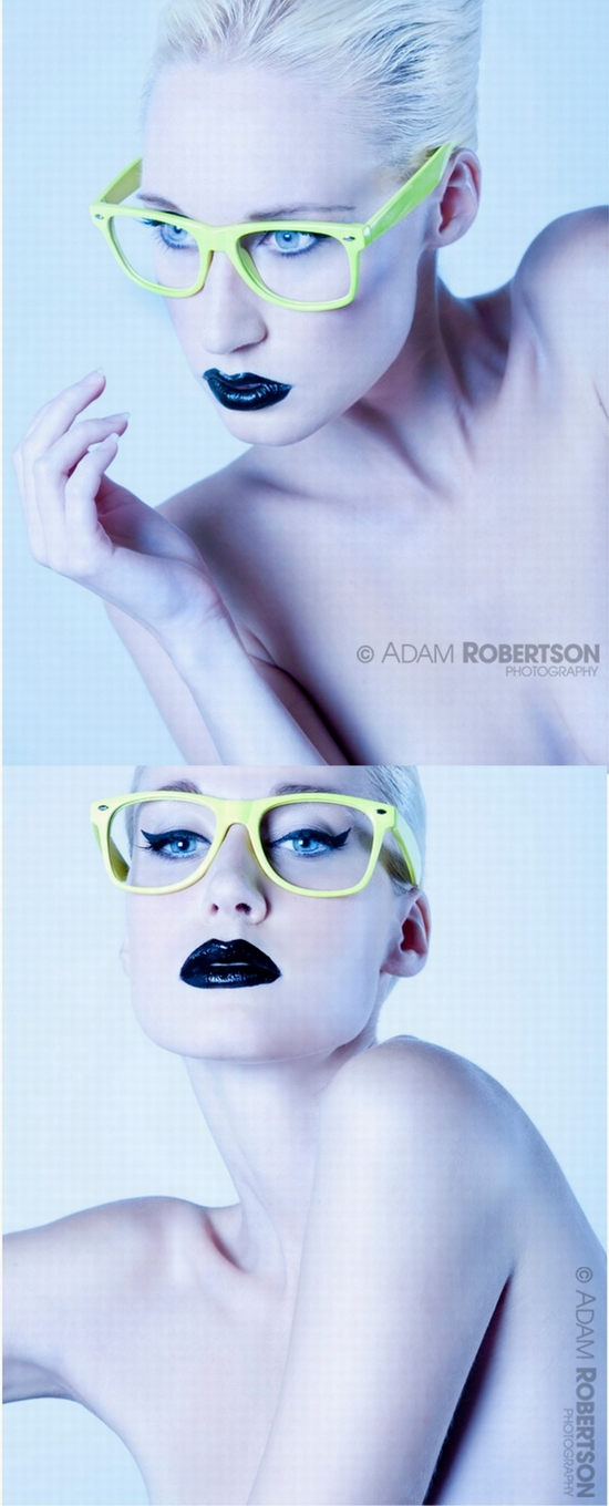 UK Aug 17, 2009 Adam Robertson Iveta with Yellow Glasses