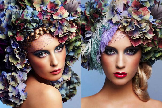 published work Aug 18, 2009 fiona quinn les fleur - beauty editorial -model Dempsey @ Viviens
