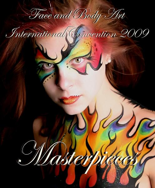 Aug 18, 2009 Book Cover - Body Paint from the 2009 FABAIC