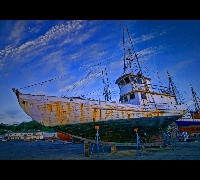Aug 19, 2009 Astoria boat yard