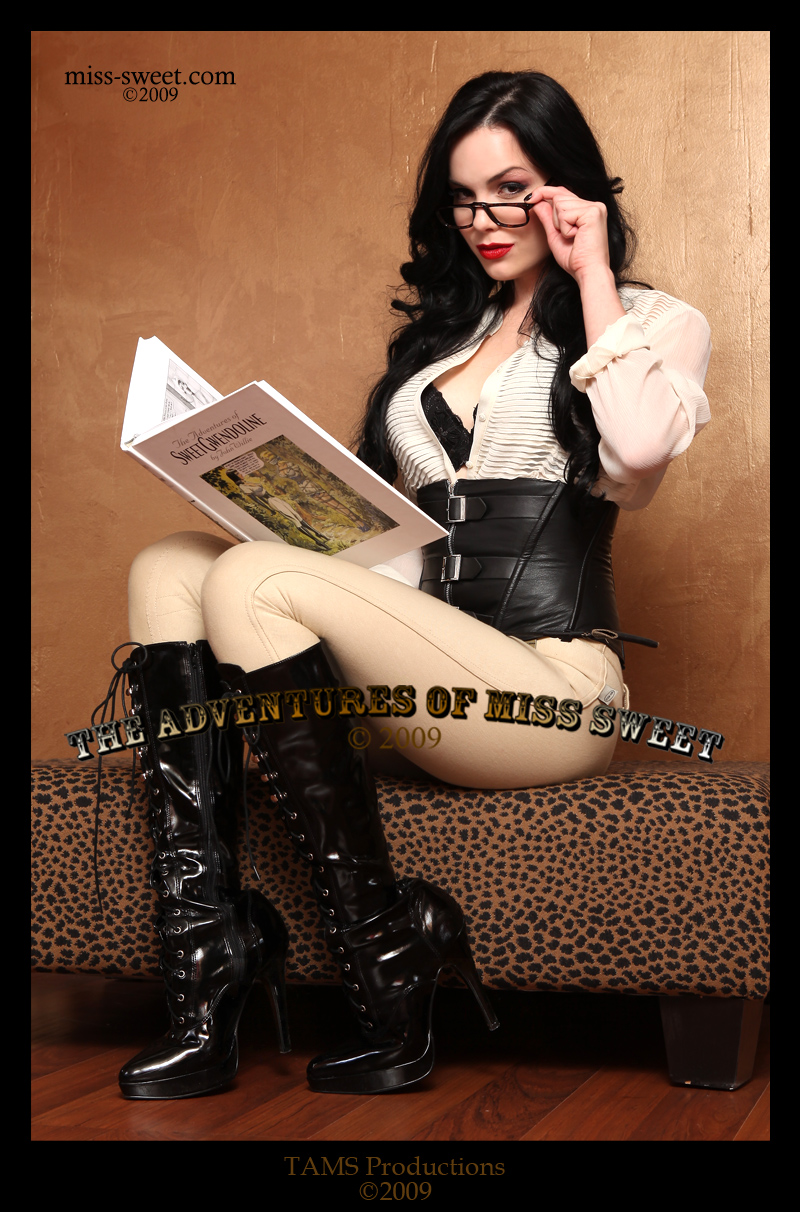 From The Adventures of Miss Sweet Aug 19, 2009 TAMS Productions Angelique DeBois
