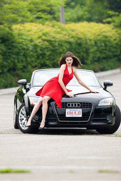 Aug 20, 2009 09 Corey Silken Hot girl, cool car.