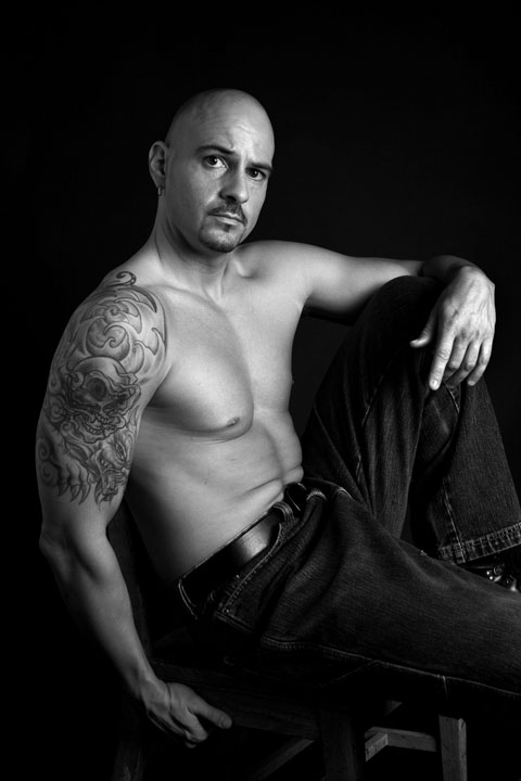 Male model photo shoot of AK Studio Photography and Travis Hartman in Bloomington, IN.