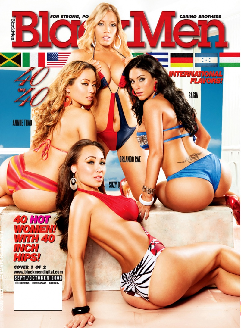 Aug 21, 2009 BLACKMENS MAGAZINE COVER SEPT/OCT 2009