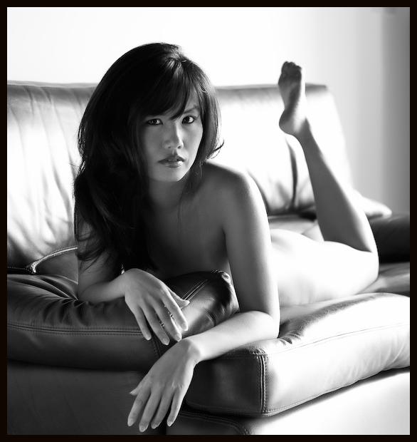 Female model photo shoot of Saori Sloan by Marc De Vinci