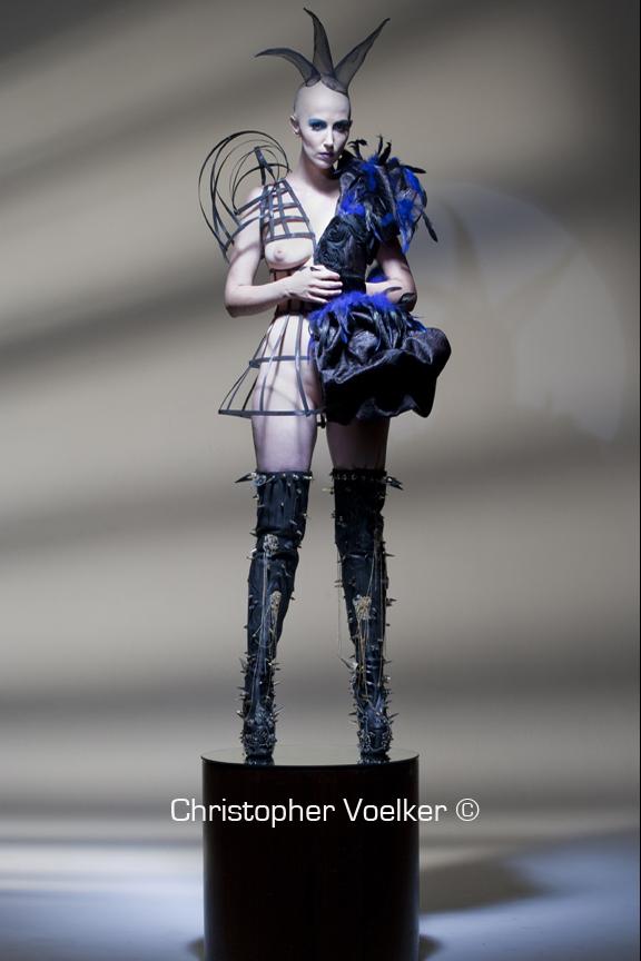 Aug 23, 2009 Christopher Voelker shoot/ Model- Juchi M u&H- Melanie Manson Dress-GLAZA